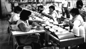 Area Ceramica Civita Castellana.Produzione Di Ceramica Artigianale Italiana