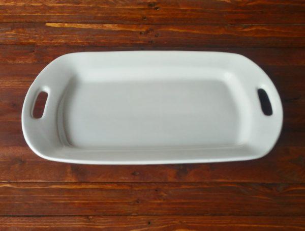 Vassoio con Manici in ceramica – Collezione Siena