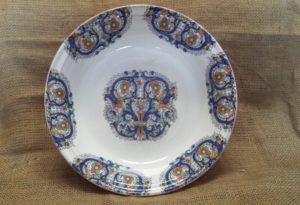piatto riso decoro deruta ceramica