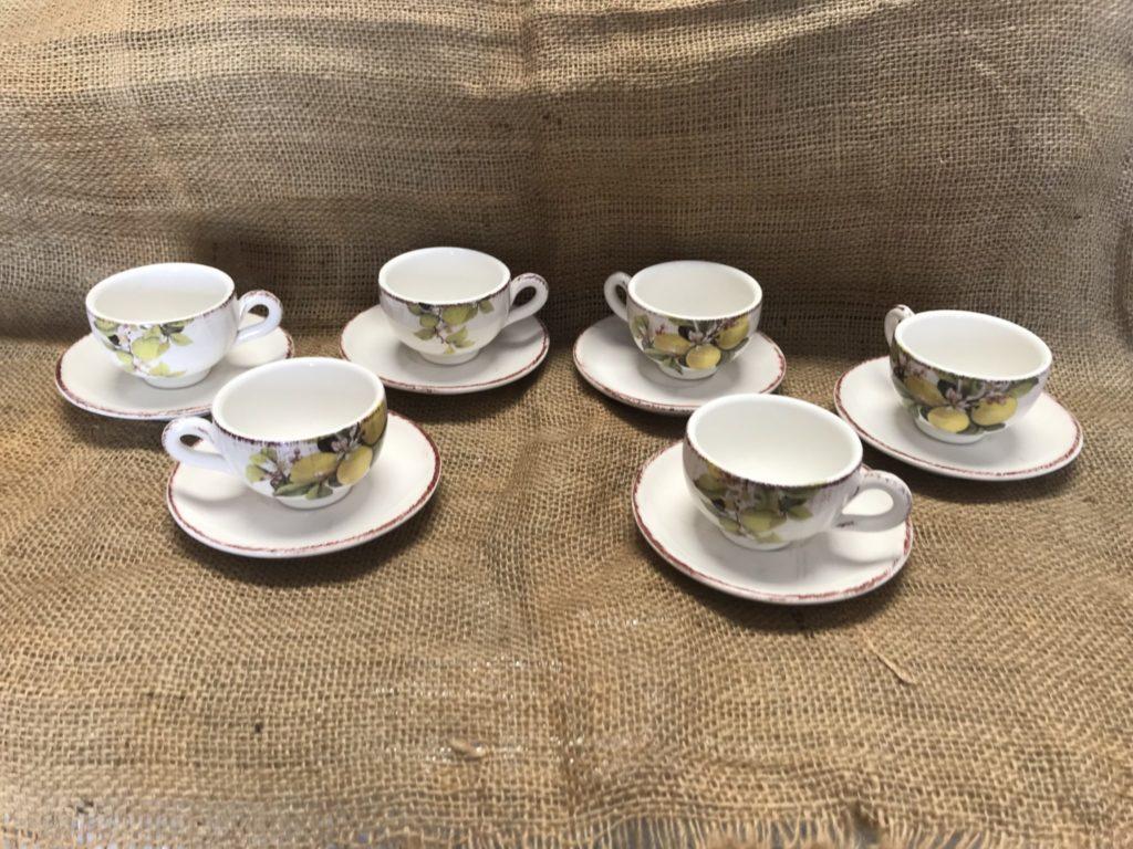 La nostra ceramica artigianale negozio di piatti e for Tazzine caffe moderne