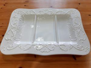 Antipastiera in ceramica