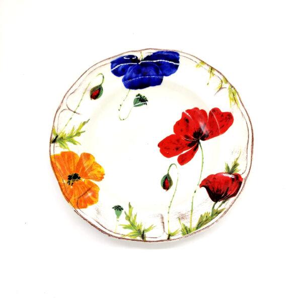 Servizio Piatti 18 Pezzi – Decoro Tulipani