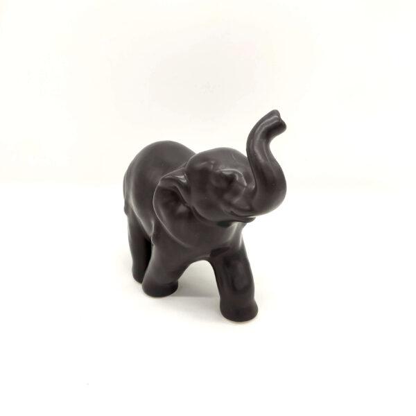 Elefante in ceramica Grigio Matt
